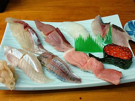 やぐら寿司(2)上にぎり