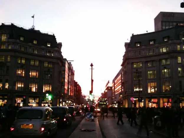 Oxford street London 2011