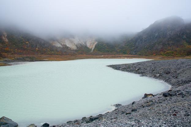 栗駒山(昭和湖畔の紅葉)