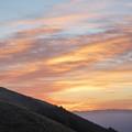 写真: 生石高原の夜明け