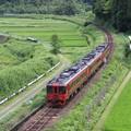 赤い特急列車 1
