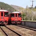 写真: 久大本線・野矢駅