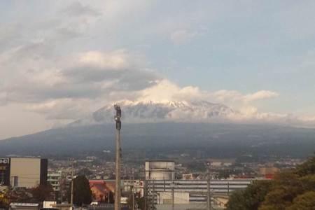 今日の富士山はこんな感じ