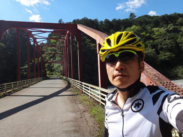 ロードバイクで寄大橋