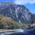 Photos: 河童橋と穂高連峰 梓川
