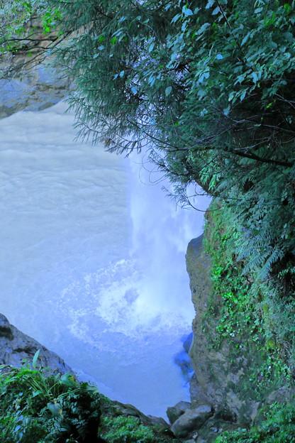 綿ヶ滝 滝つぼ