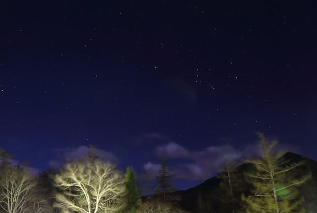 ホテルの窓から 南の星空(2)