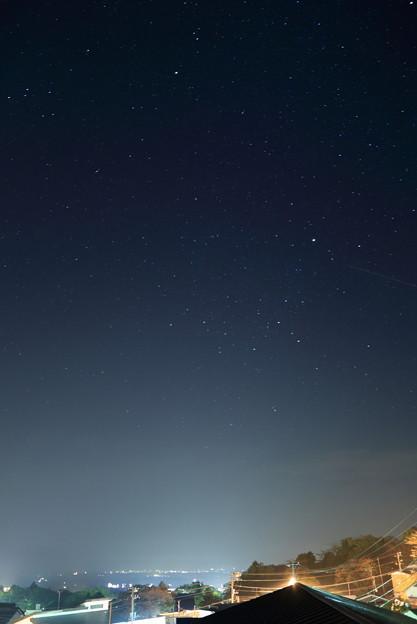 那須の夜空