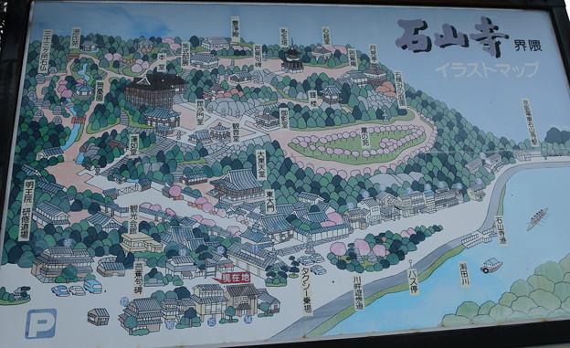 石山寺 マップ