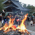 Photos: 尾山神社 左義長(どんど焼き)
