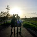写真: 青春の日々