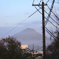 雲海に浮かぶ有馬富士