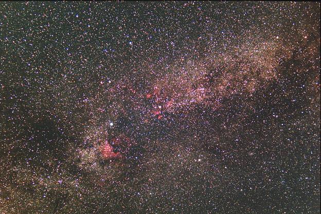 銀河系 白鳥座方面