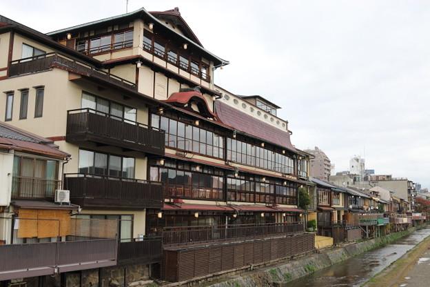 曇りの京都