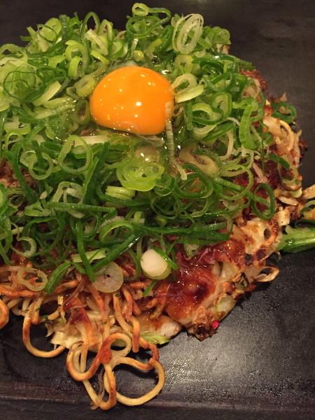 京べた焼き~特製たぬき焼き~