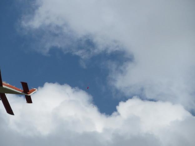 Photos: 風船割り飛行1回目