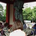 ナントカ竜王の像