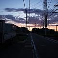 Photos: 夕焼けに染まるとき