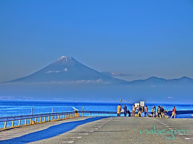 富士山殺人事件?