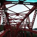 Photos: X70_-奥多摩_赤い橋-0495