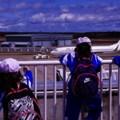 Photos: 大空の町 三沢で飛行機を見送って・・20140502
