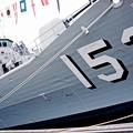 Photos: 本日寄港したオーストラリア海軍 フリーゲート艦スチュアートFFH153。。10月10日