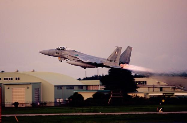 やっぱり面白い百里のナイト。。第305飛行隊梅組 上がり。。9月14日