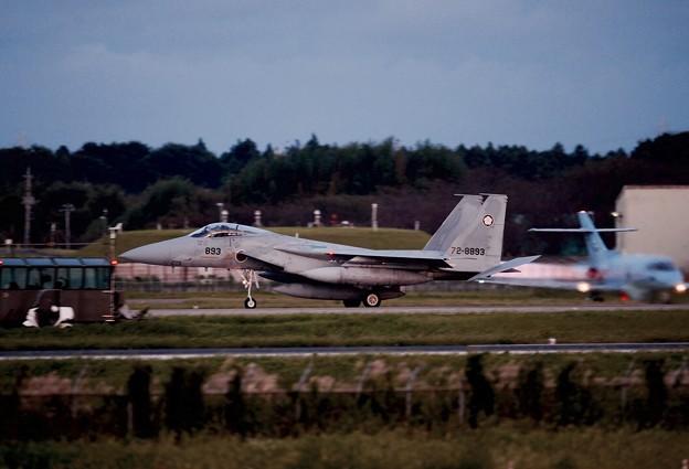 フルスロットルで。。アフターバーナー出して第305飛行隊梅組F-15 テイクオフ 9月14日