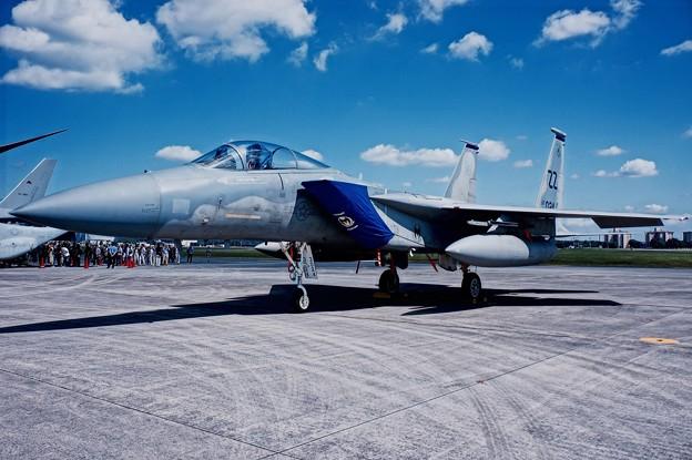 嘉手納のF-15Cイーグル。。44飛行隊