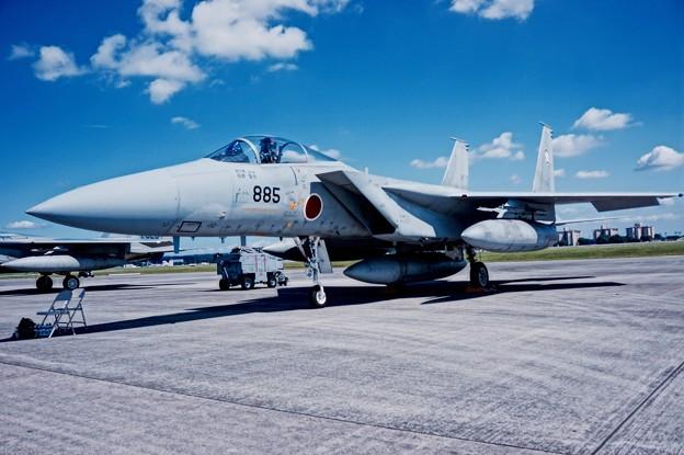 百里の第305飛行隊梅組。。F-15J