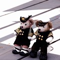 Photos: 護衛艦に乗っていた海上自衛官ダッフィー。。横須賀基地一般公開10月10