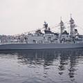 Photos: 護衛艦てるづきの甲板から見えた護衛艦いかづち達。。横須賀基地一般公開10月10日