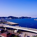 観艦式で空っぽの横須賀基地周辺。。晴れになって 10月18日
