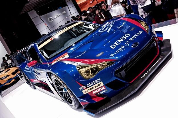 superGT参戦車。。SUBARU BRZ。。東京モーターショー2015 11月1日