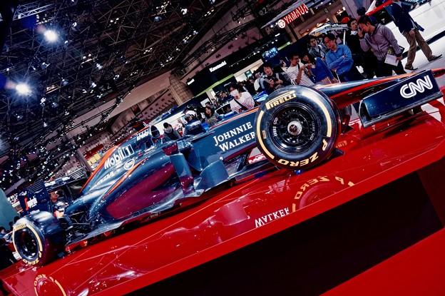 来年に期待のF1。。マクラーレンホンダ 東京モーターショー201511月1日