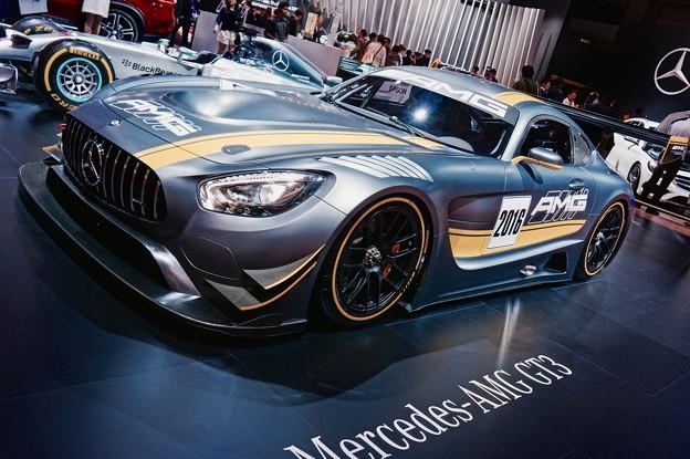 メルセデスAMG GT3。。レーシングカー。。東京モーターショー2015 11月1日