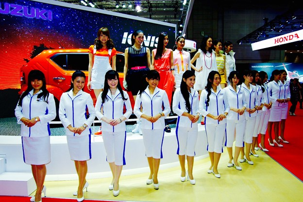 東京モーターショー2015のフィナーレ。。by SUZUKI