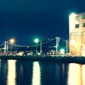 レトロな町並みと門司港と関門海峡。。20151121
