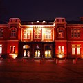 Photos: ライトアップされた旧門司税関建屋。。門司港20151121