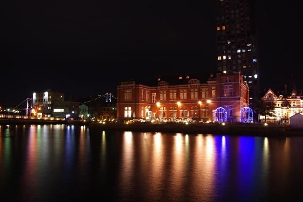 レトロな町並みの門司港の夜。。20151121