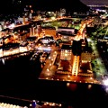 Photos: 門司港の夜の町並みを展望室から。。20151121