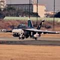 Photos: 撮って出し。。本日から訓練再開厚木基地。。アウトローのEA-18Gグラウラー。。1月15日