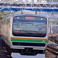Photos: たまには撮り鉄に。。笑(^^) 湘南新宿ラインE233系  20151129