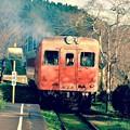 ディーゼルの加速するいすみ鉄道急行 キハ52。。20151220