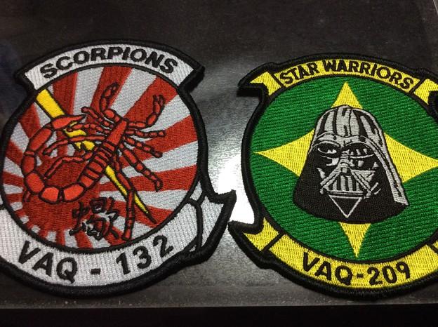 3月に厚木基地へ飛来した2部隊。。パッチ