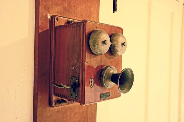 昔の電話器。。江戸東京たてもの園 20160313