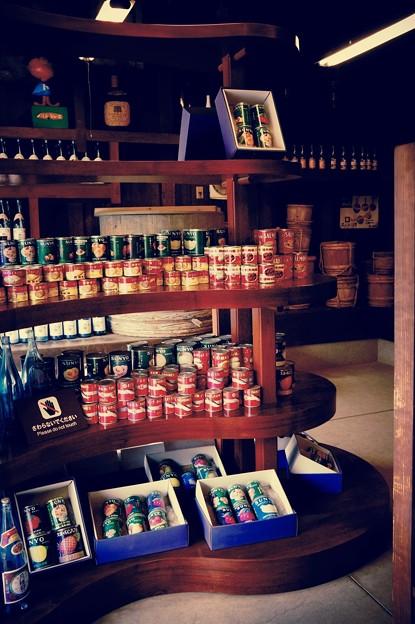昔の醤油屋さんに缶詰も。。江戸東京たてもの園 20160313