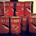 Photos: 懐かしいカマ肉缶。。マルハ。。江戸東京たてもの園 20160313