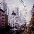 Photos: 横浜の街並みにコスモワールド観覧車。。20160327