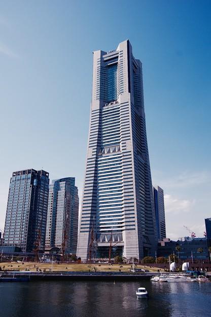 地元横浜のシンボルタワー。。ランドマークタワー 20160327